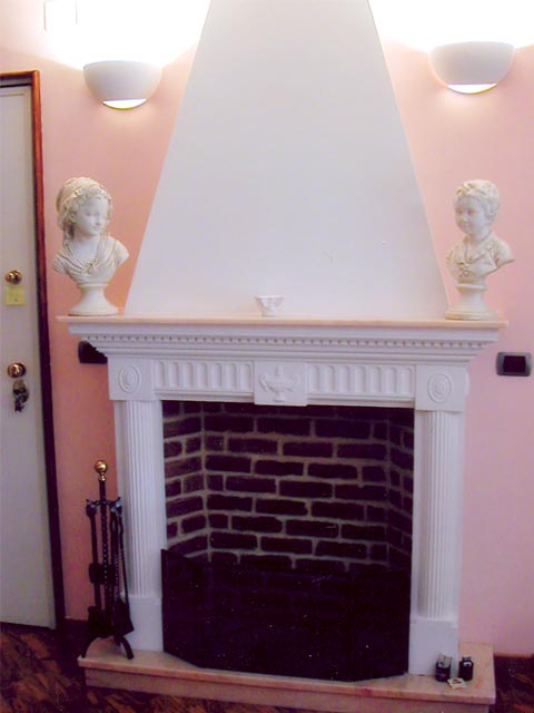 Example of an Empire Fireplace