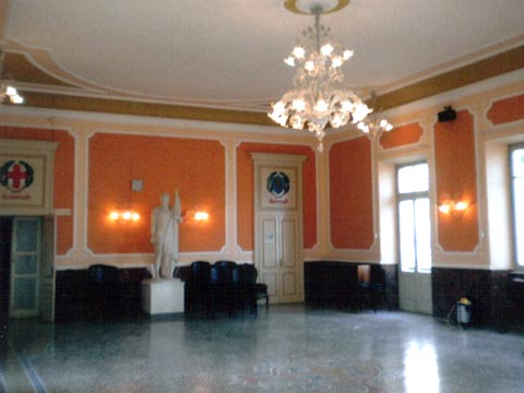 Conservative Restoration of the Council Chamber of the Municipality of RoomAlessandria