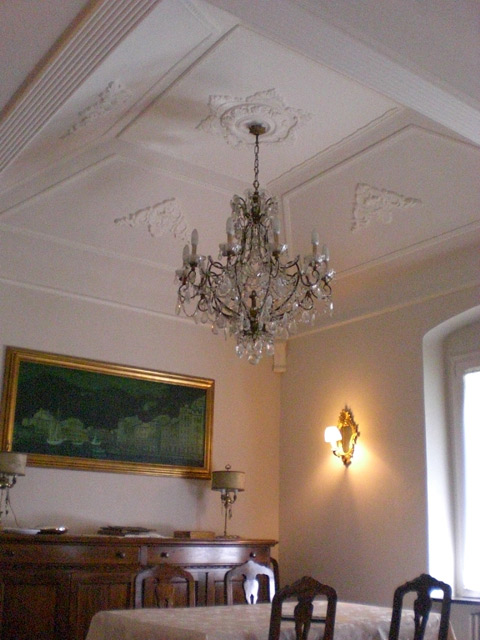 Particular Vaulted  Ceiling in a Villa