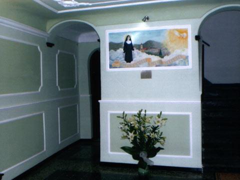 Atrio della Casa della Beata Suor Maria Repetto di Voltaggio (Al)