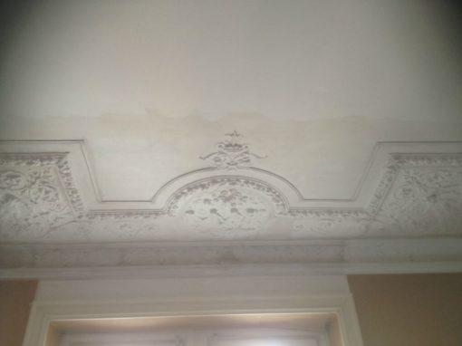Ricostruzione di un soffitto dei primi del '900